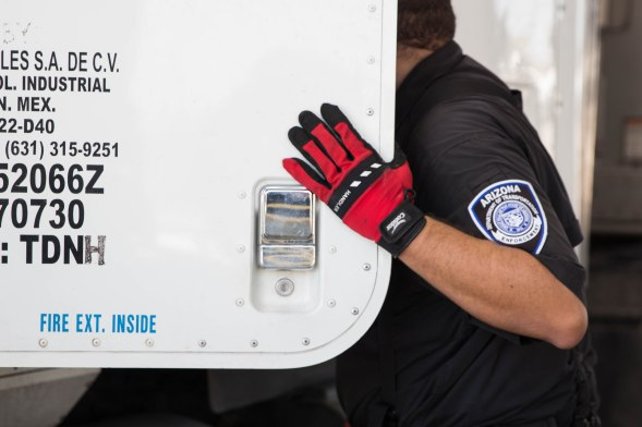 ADOT is working directly wtih Mexican trucking companies to get drivers certified. So far ADOT reports that almost 90 drivers have passed the class. (Photo by Tynin Fries/Cronkite News)